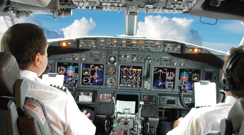Aproximación visual en avión
