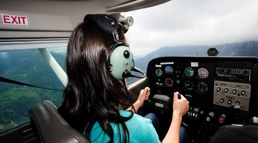 Aproximación VMC en avión
