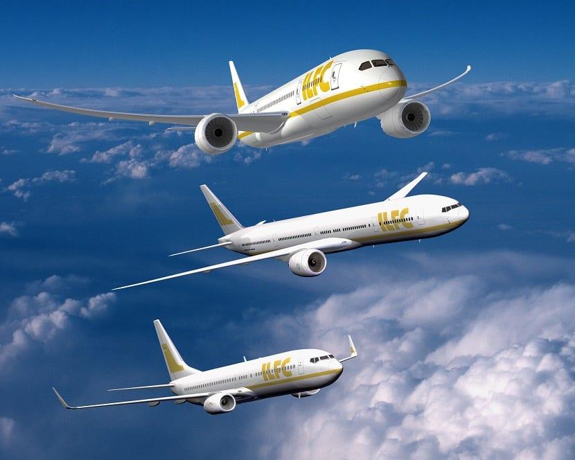 Aproximación visual de aviones