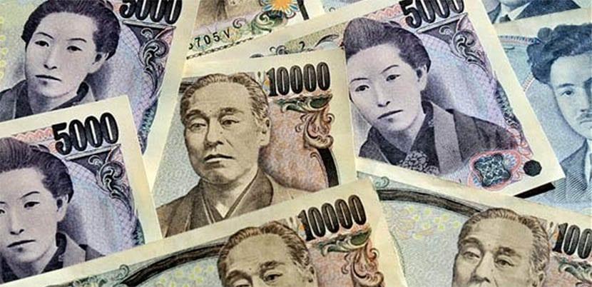 billetes japón
