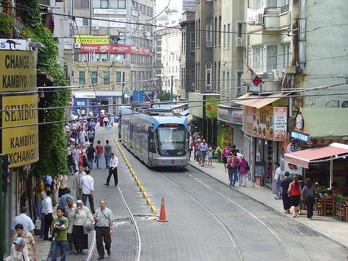Calles de Estambul Foto