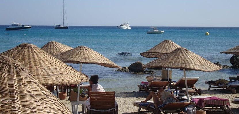 playa daylan en Cesme