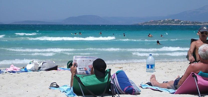playa pilanta en cesme