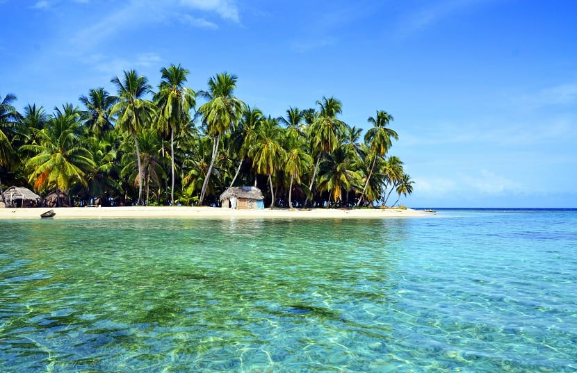 La playa de Tulum