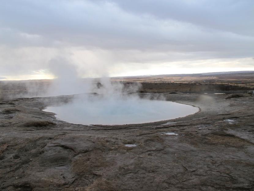 Geiser en Islandia