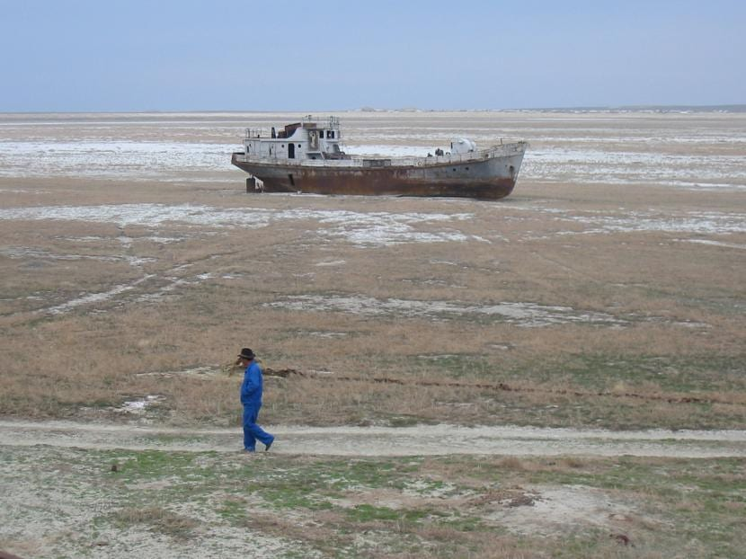 mar aral muerto