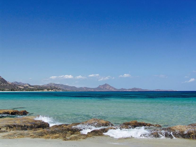 Playa mar mediterraneo