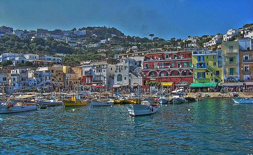 La isla de Capri, en Italia