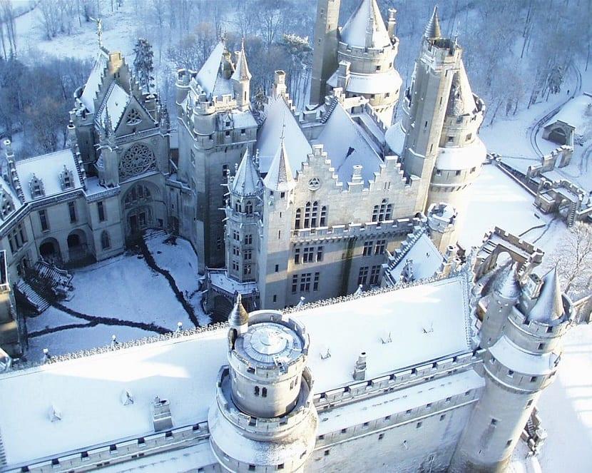 Castillo de Carcassone en Francia