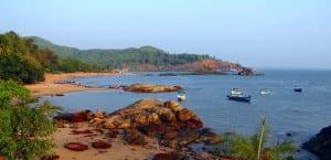 Orilla de la playa Gorkana