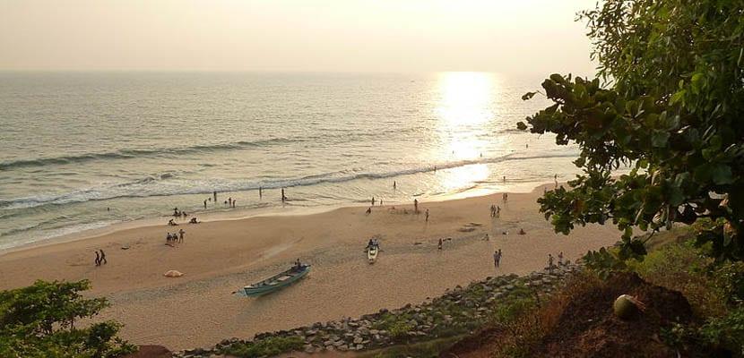 Playa Varkala
