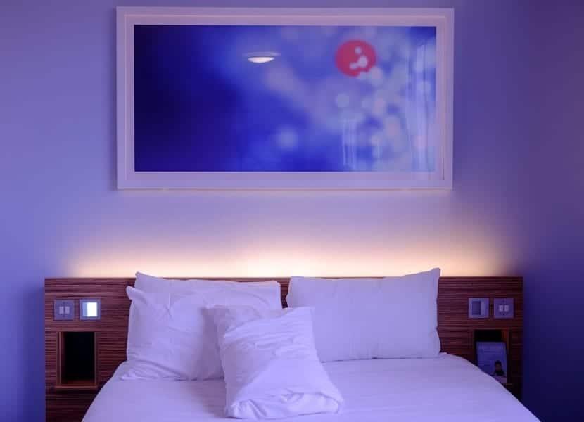 Habitación de hotel low cost