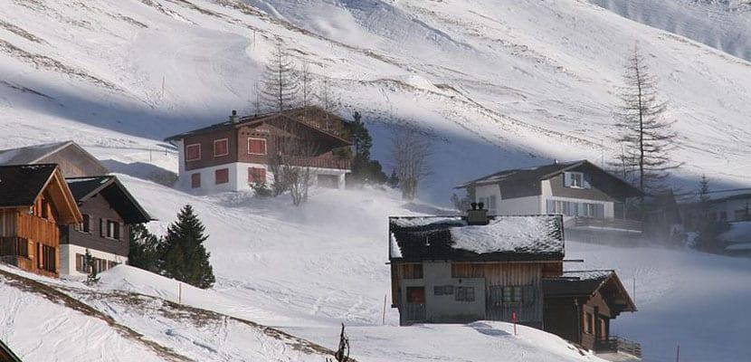 Nieve en Malbun