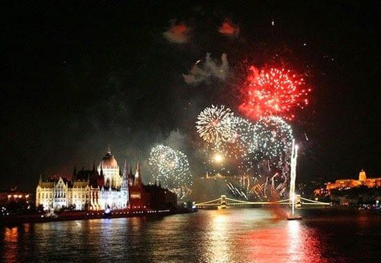 Fiestas de San Esteban en Budapest