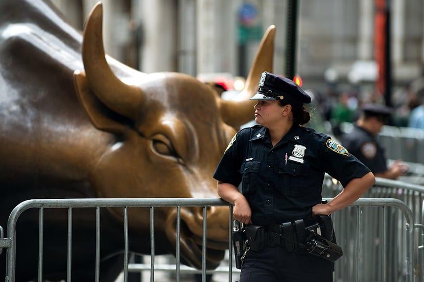 Toro en Wall Street