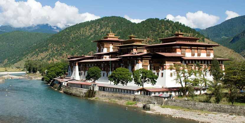 Monasterio en el Himalaya