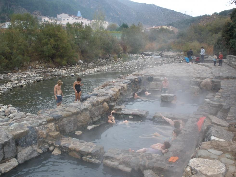 Las termas naturales de arnedillo en la rioja for Termas naturales cerca de madrid