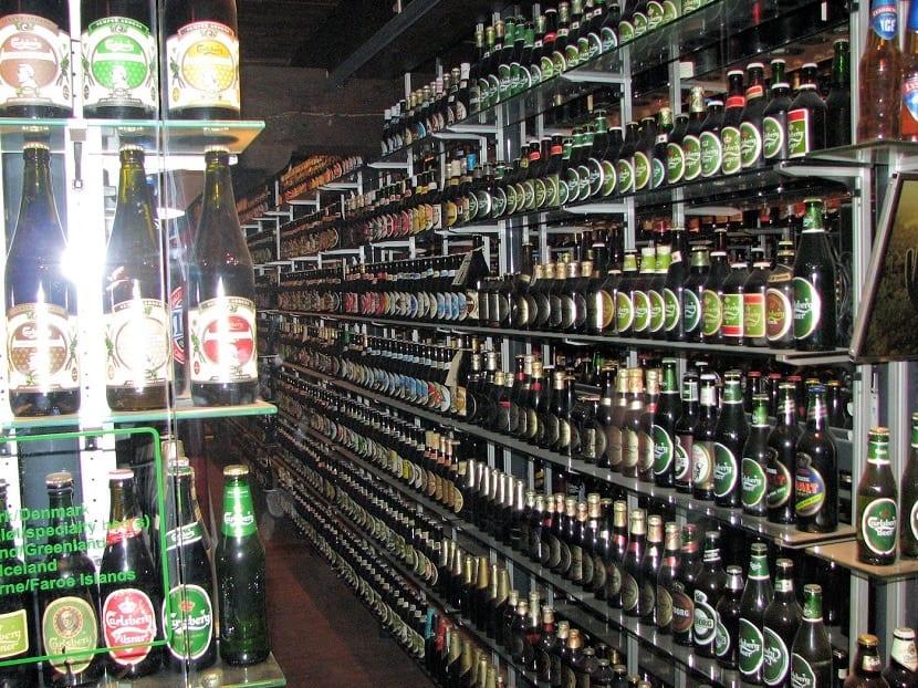 Colección de cervezas