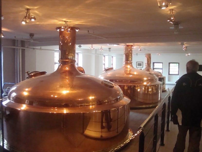 Tanques de cerveza