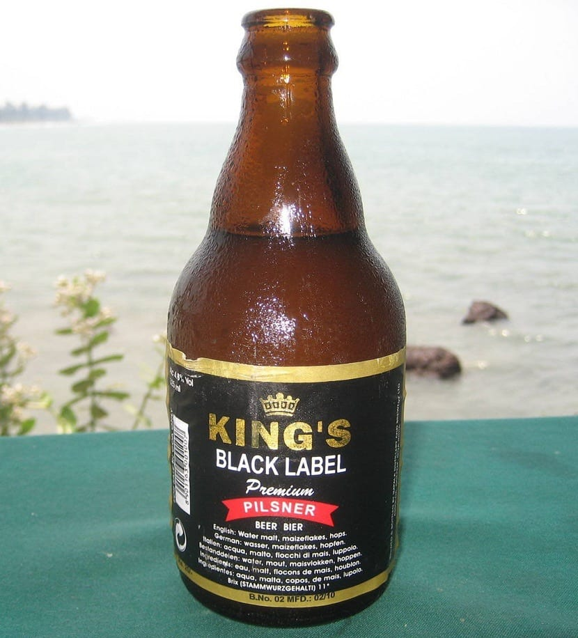 Cerveza India Kings