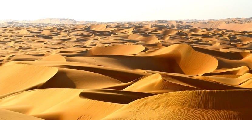 Desierto de asia