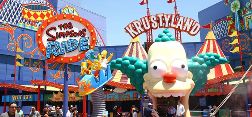 Krusty Landia en Universal Studios