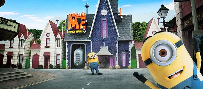 Minions en Universal Studios