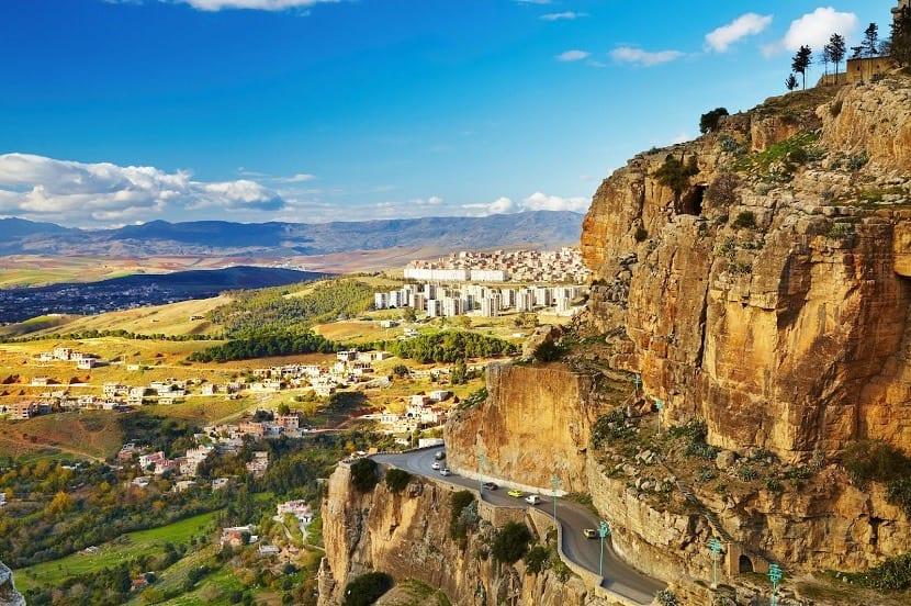 Paisaje de Argelia