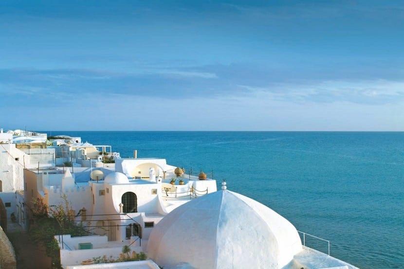 Vistas al mar en Túnez
