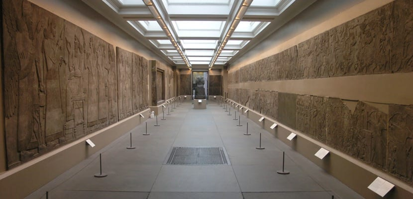 Arte asirio en el museo británico