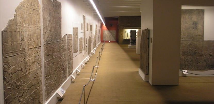 Relieves asirios en el museo británico