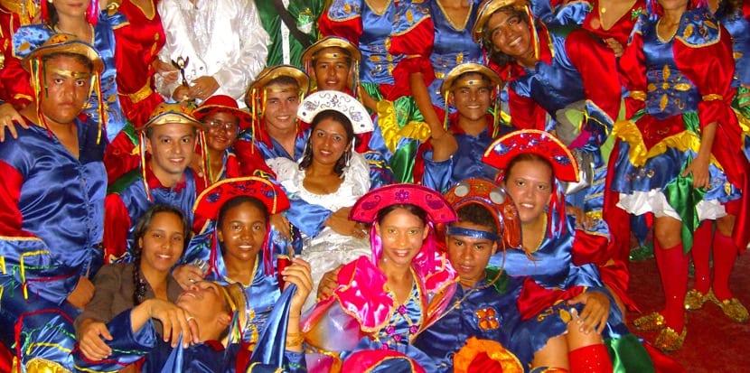 Trajes típicos de Pernambuco y Paraíba