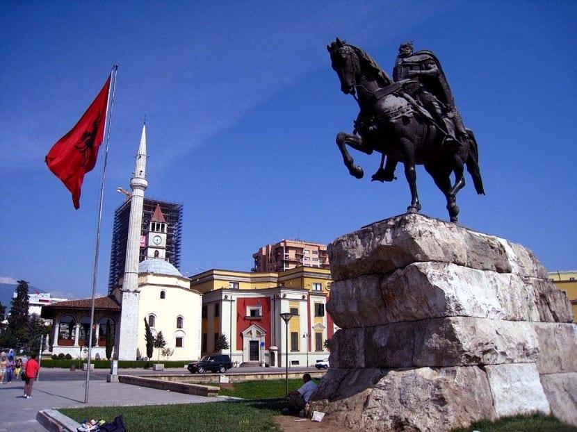 Tirana en Albania