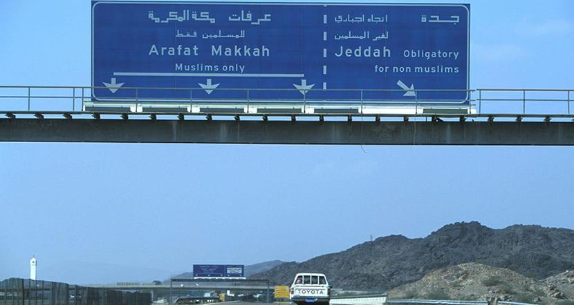 El reto de viajar a La Meca