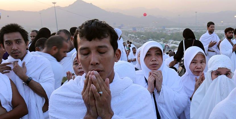 el Hajj o peregrinación a la Meca