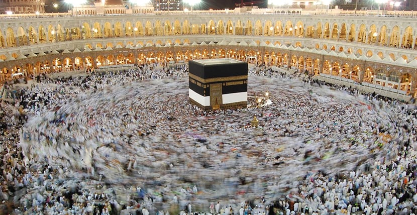 Multitud en La Meca