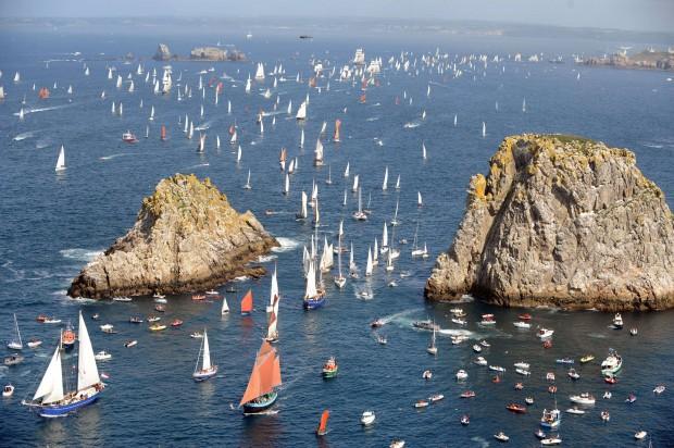Brest, el gran puerto atlántico de Francia