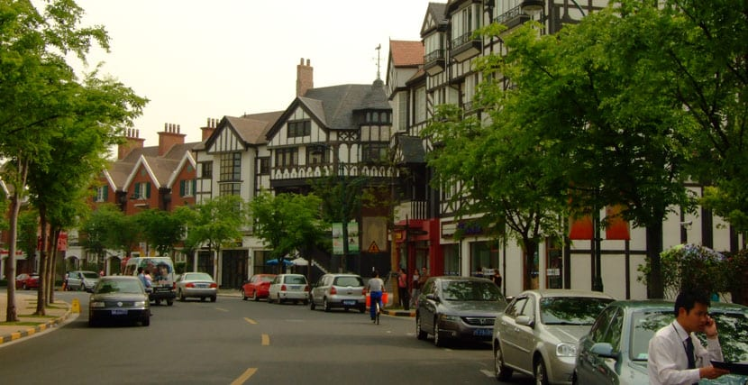 calles Thames Town