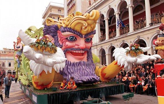 Carroza Carnaval de Patras