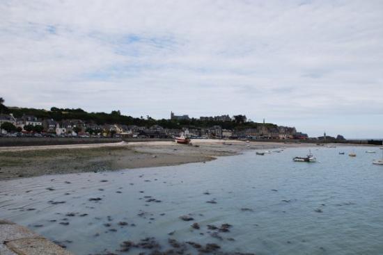 Cancale, ostras de la Bretaña