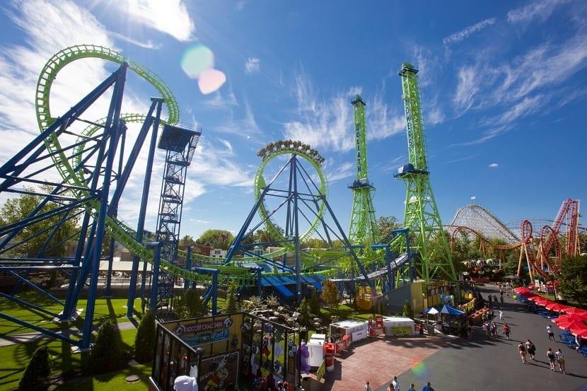 Los Mejores Parques De Six Flags En Estados Unidos