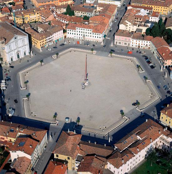 Palmanova, una ciudad italiana con estrella