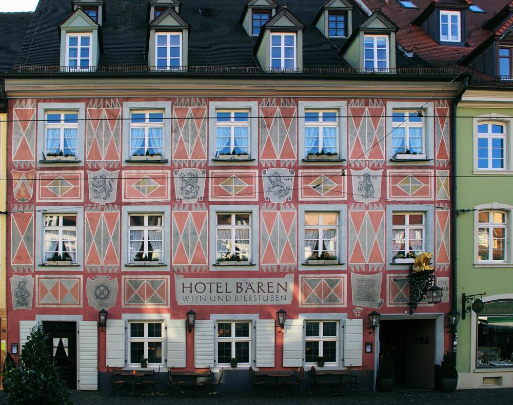 El hotel más antiguo de Europa, en Freiburg