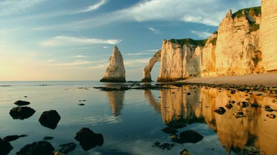 Etretat Normandía Francia