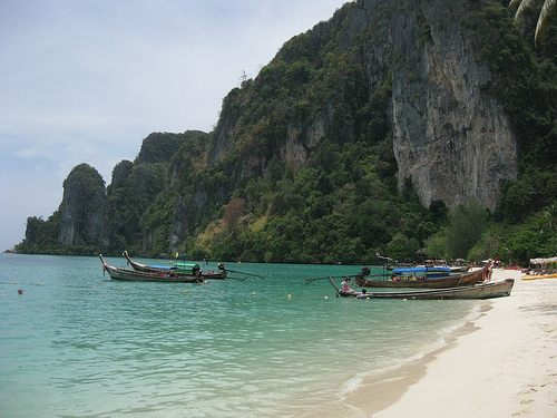 Ko Phi Phi Lee, una isla de película