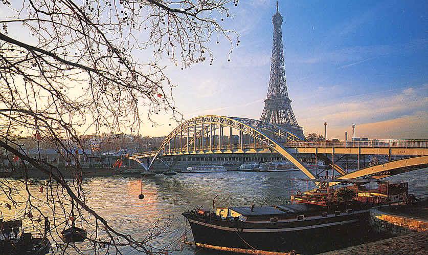 Los tres puentes más románticos sobre el Sena