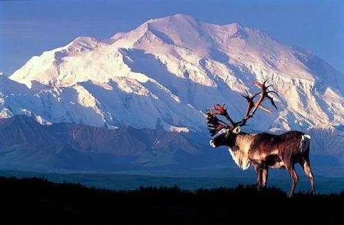 Monte McKinley en Alaska
