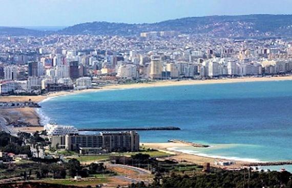 Ciudad de Tanger, en Marruecos