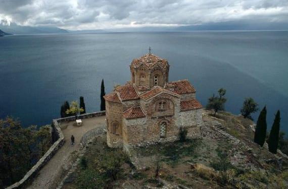Iglesia de San Juan Kaneo en Macedonia