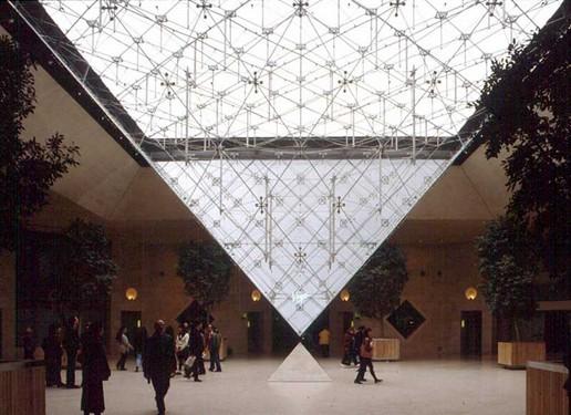 Pirámide Invertida del Louvre